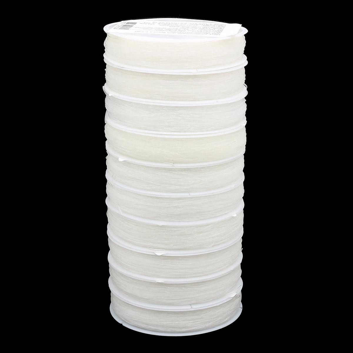 Нить силиконовая для бисера 0,6мм 30м