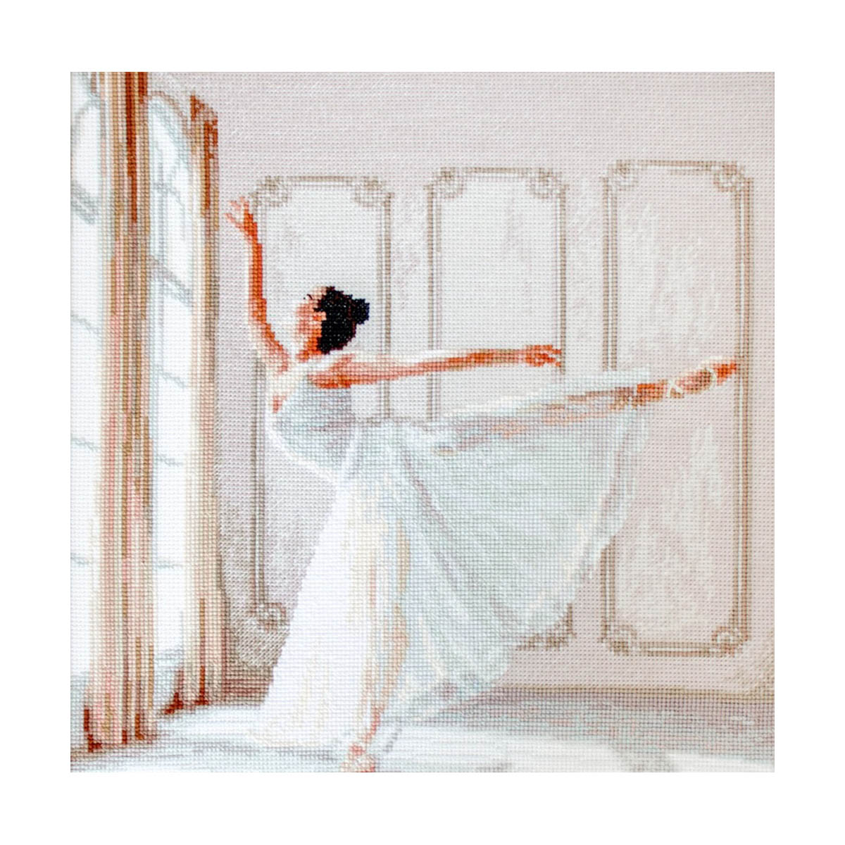 Leti901 Набор для вышивания LetiStitch 'Балерина' 26,5*32см