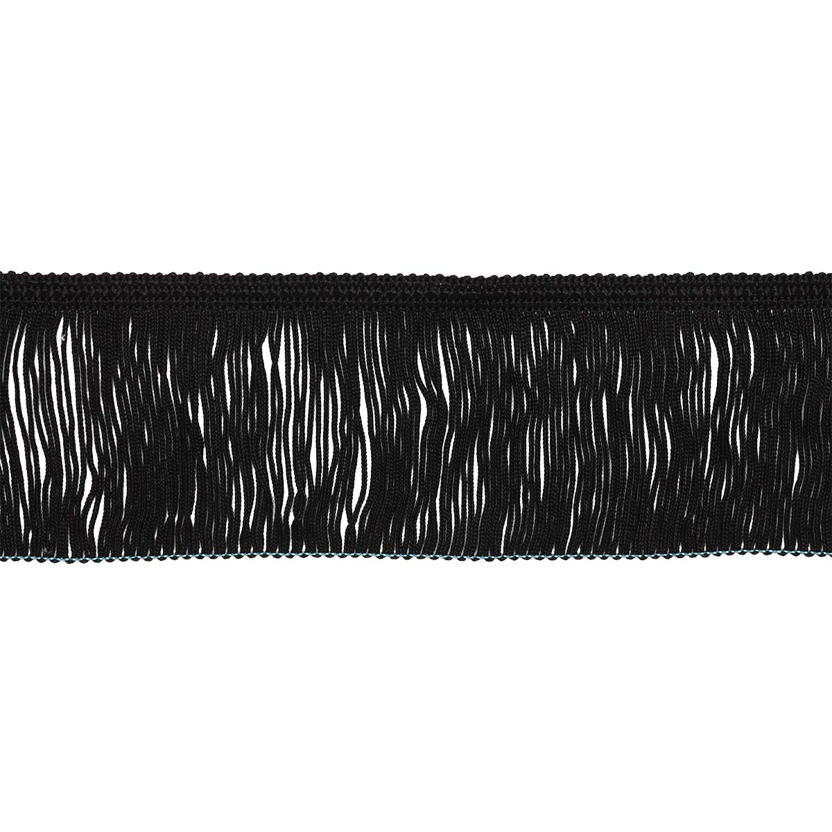 2.227Р Бахрома 6см*10м (черный) фото