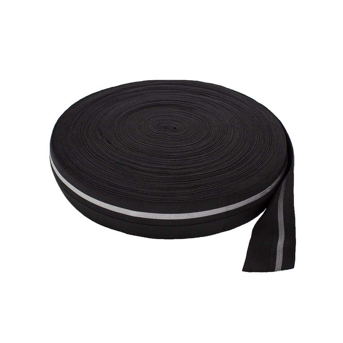 3AR901 Резинка мягкая широкая с перегибом 4см*45,72м