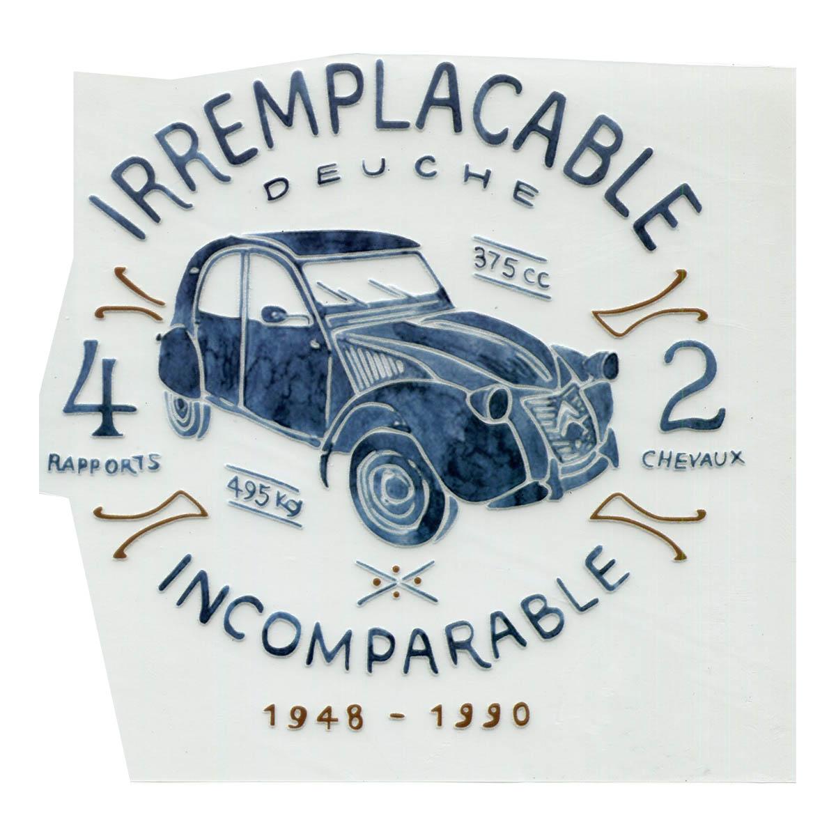 ALP-010 Термотрансфер 'Машина' 16*18см