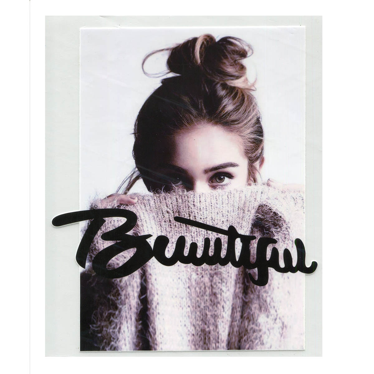 ALP-013 Термотрансфер 'Beautiful' 18*22см
