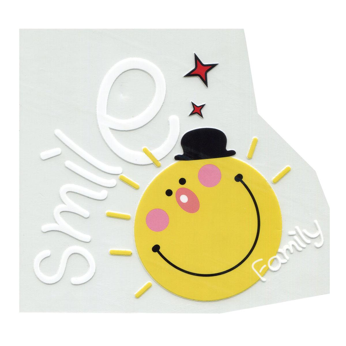 ALP-035 Термотрансфер 'Smile'18*17CM