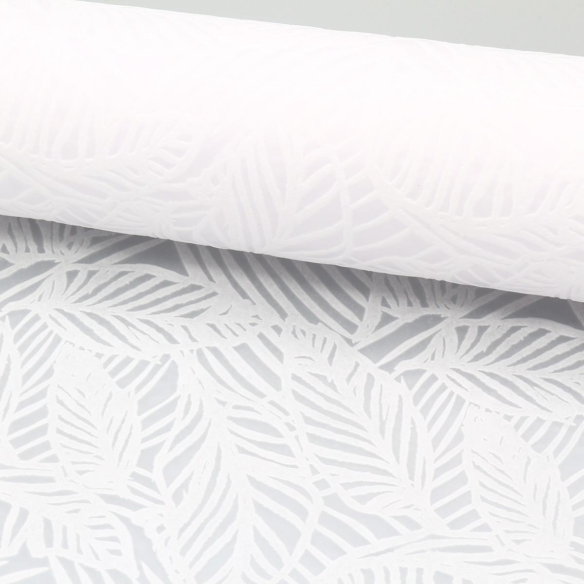 AR1104 Материал упаковочный декоративный флористический белый, 48см*4,57м