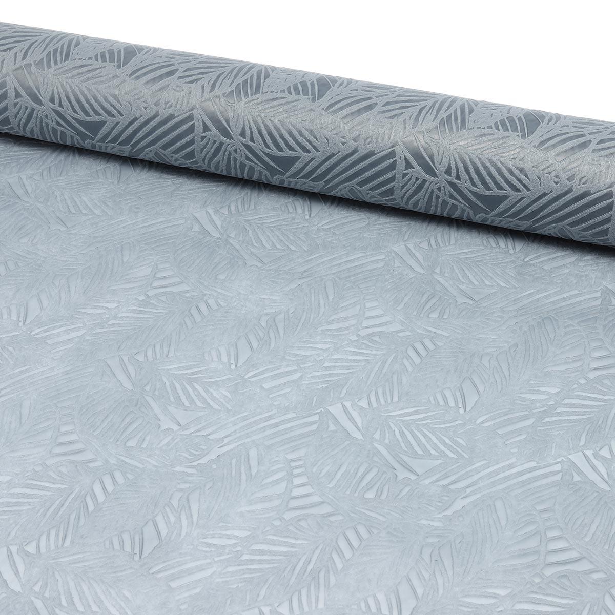 AR1104-4 Материал упаковочный декоративный флористический серый, 48см*4,57м