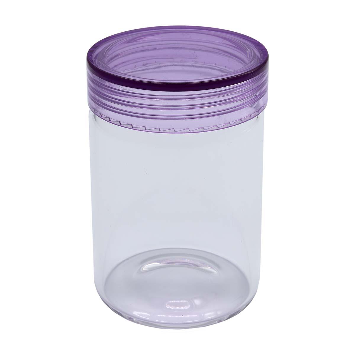 AR1344 Бутылочка стеклянная с цветной крышечкой 5,5*8см, 2шт/упак