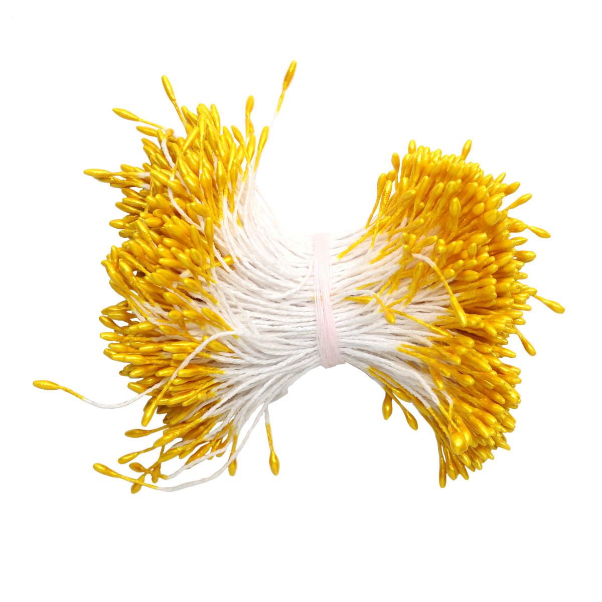AR560-1 Тычинки для искусственных цветов 0,1*6см Астра, 2шт/упак