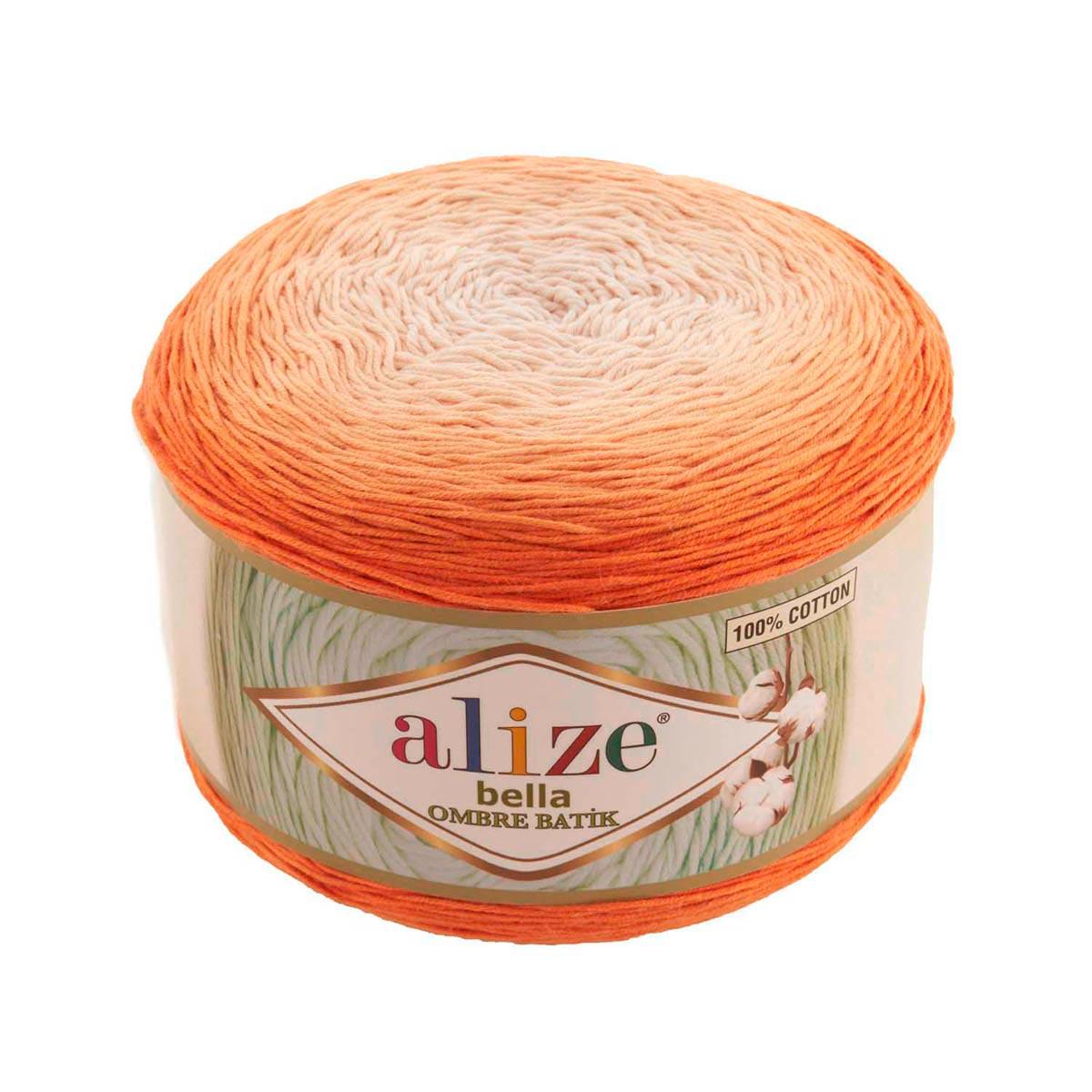 Пряжа Alize 'Bella Ombre Batik' 250г 900м (100% хлопок)