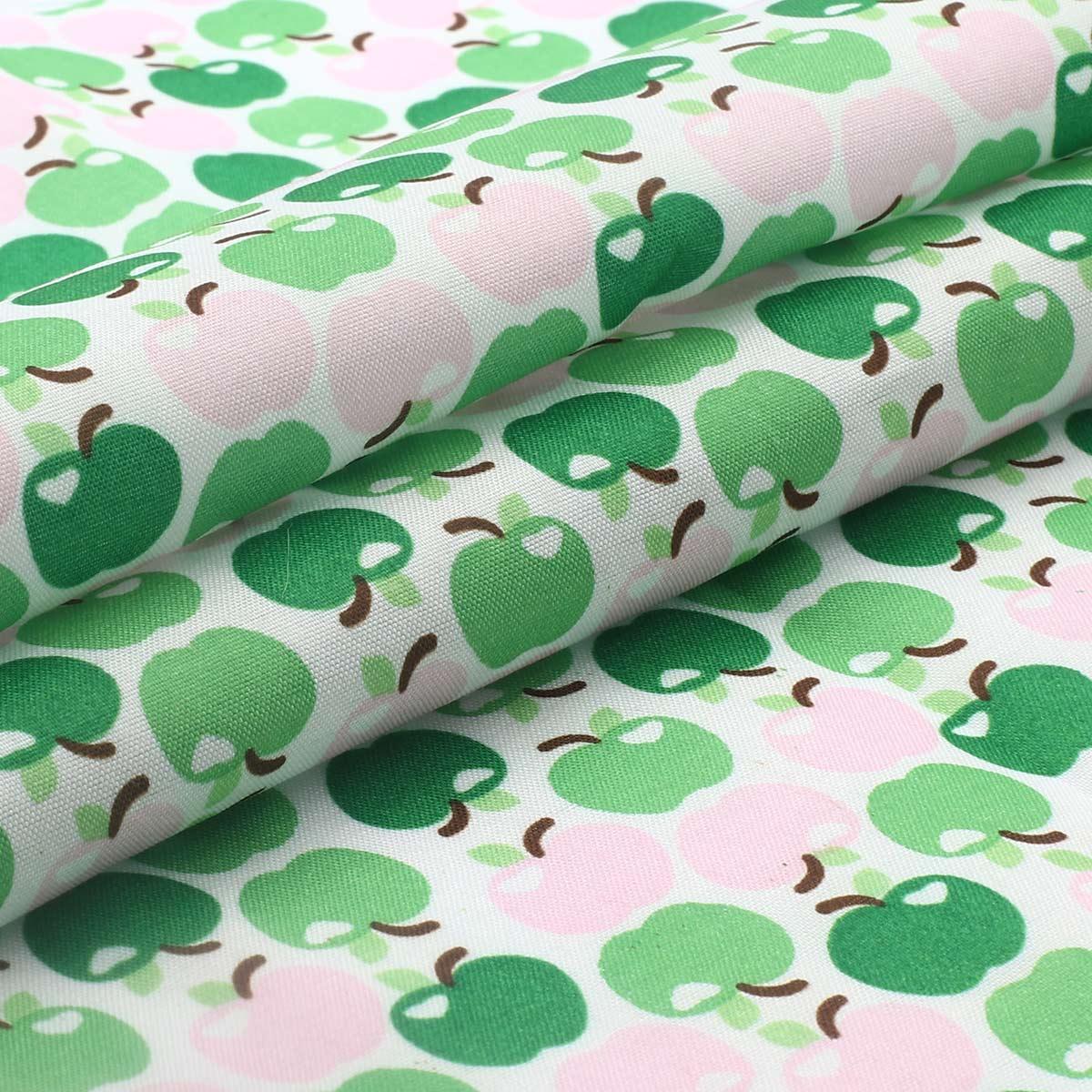 AR1014 1 Ткань хлопок 'Цветные яблочки' 50*50см