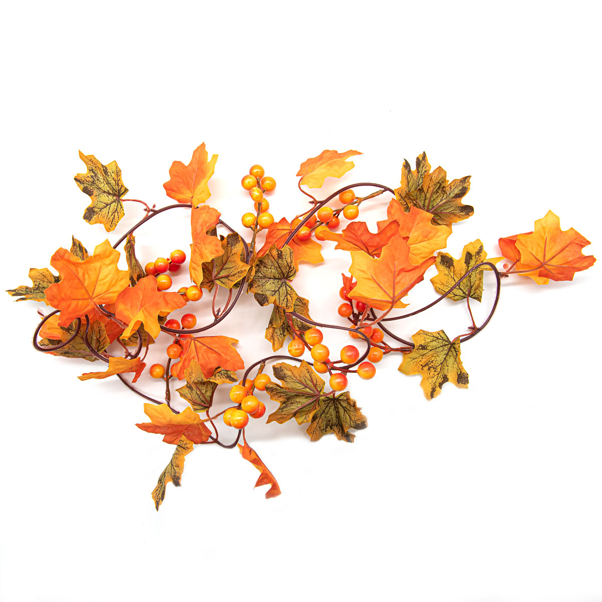 XY19 1136 Гирлянда из кленовых листьев, 190см
