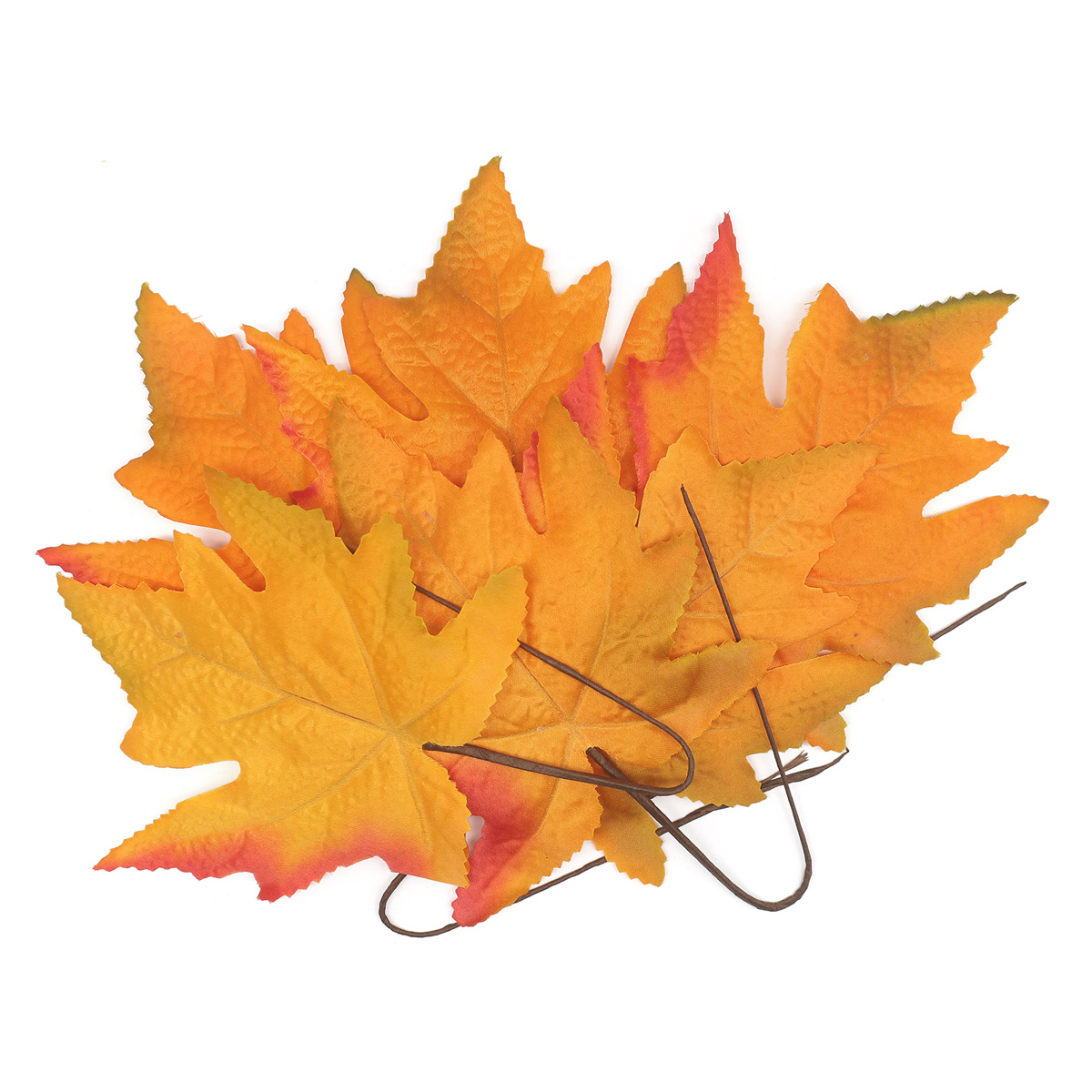 XY19 1140 Кленовые листья, 6шт (6 Светлый