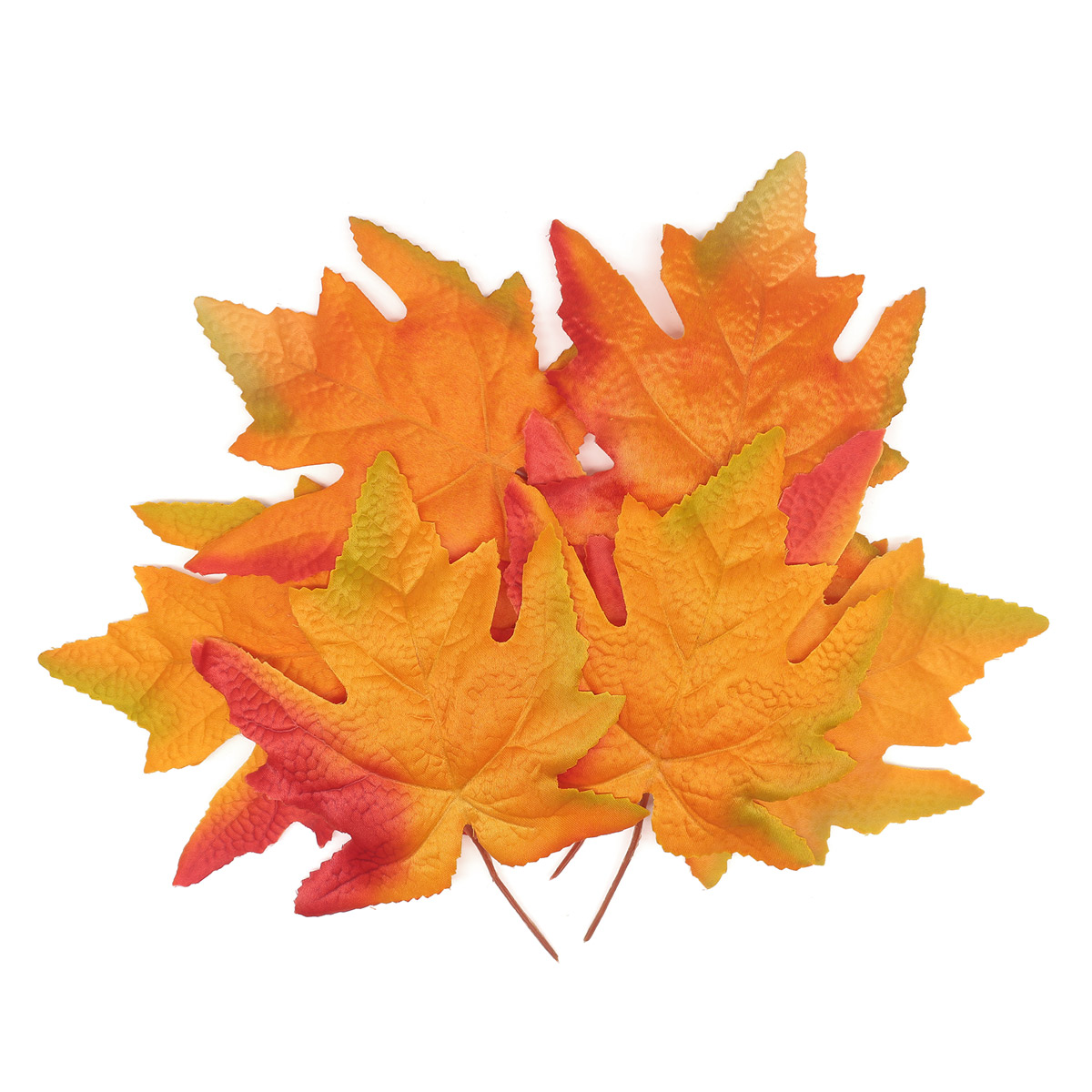 XY19 1141 Кленовые листья, 9шт (4 Оранжевые)
