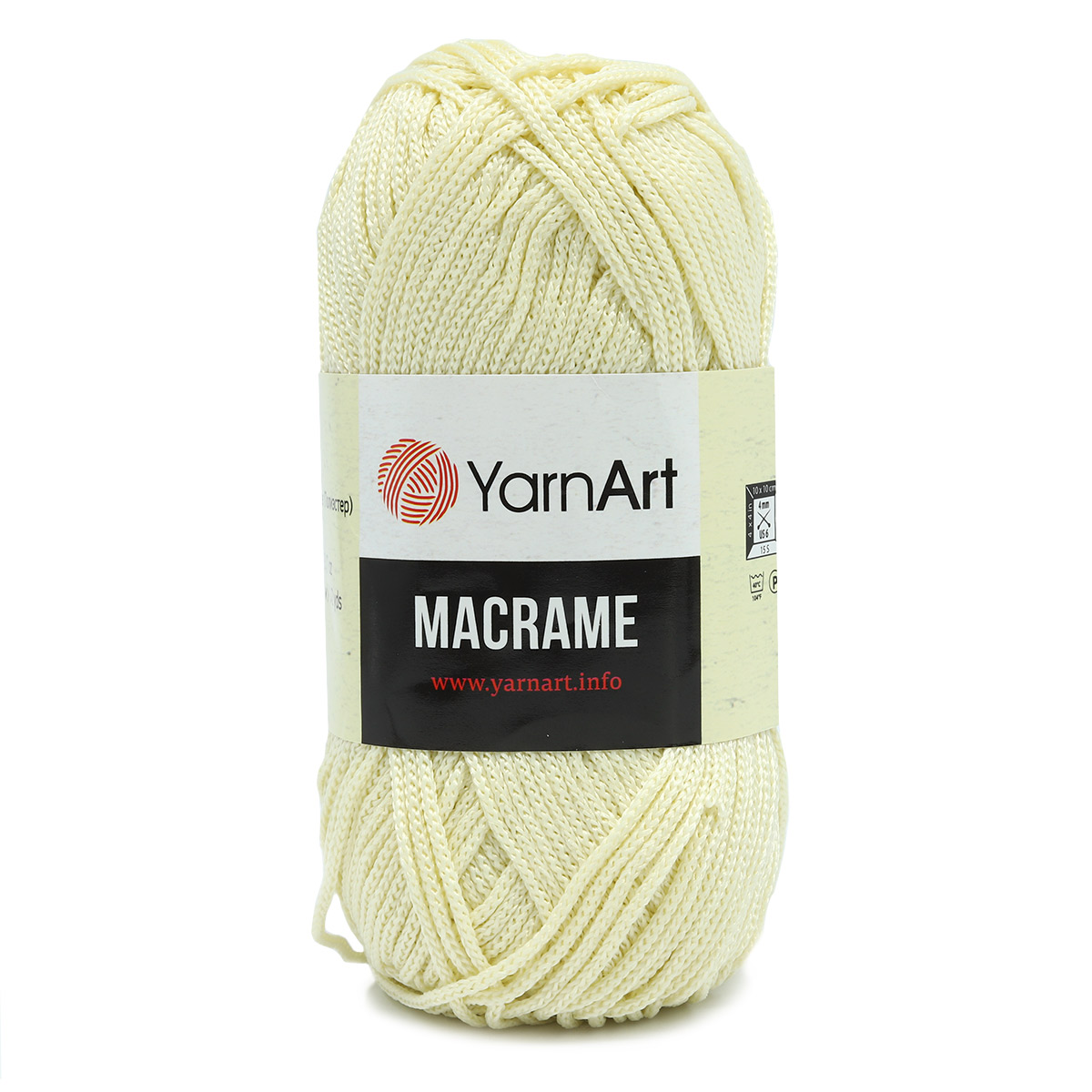 Пряжа YarnArt 'Macrame' 90гр 130м (100% полиэстер)