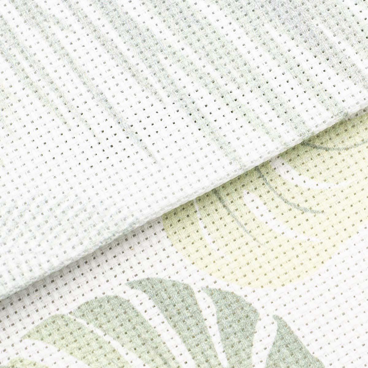 Набор дизайнерской канвы, тропические дизайны 30*30 см, 2шт, Bestex