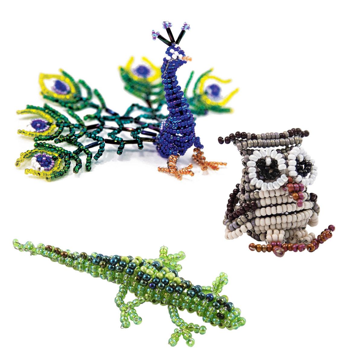 Набор для бисероплетения Hobby & Pro pearl Фигурки Животные №2