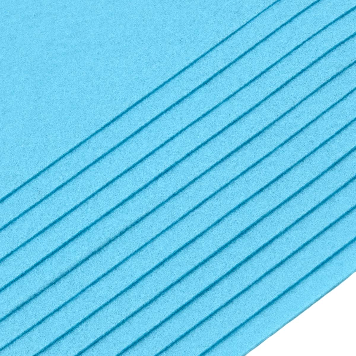 Набор фетра жесткого листового, 1.0мм, 160 гр, 20х30см, 12шт/упак Astra&Craft