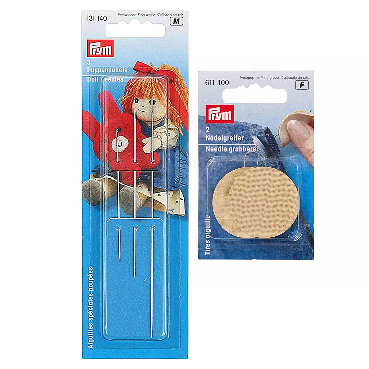 Набор игл для мягких игрушек с грейфером, Prym