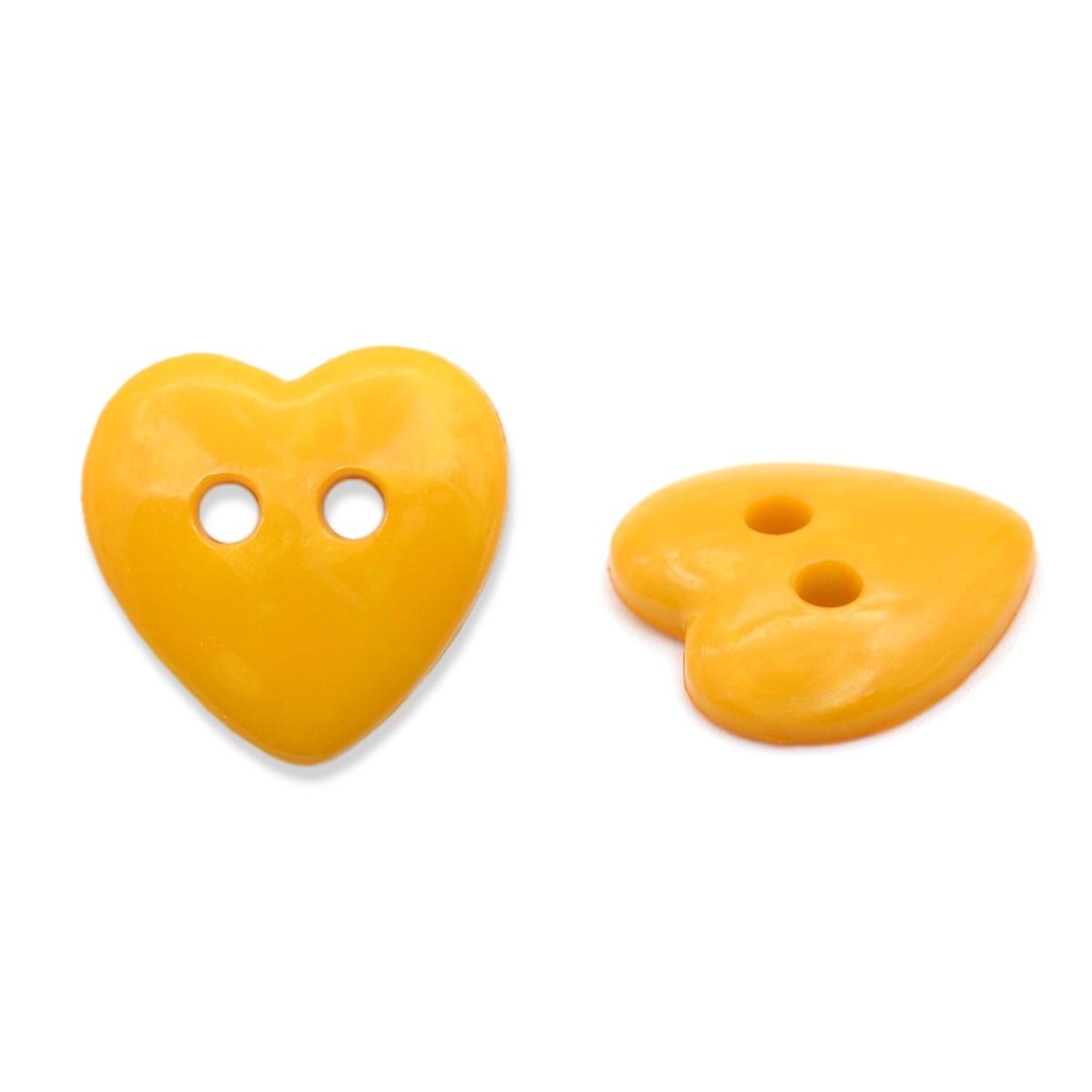 5492 Пуговица 'Сердце', 13 мм