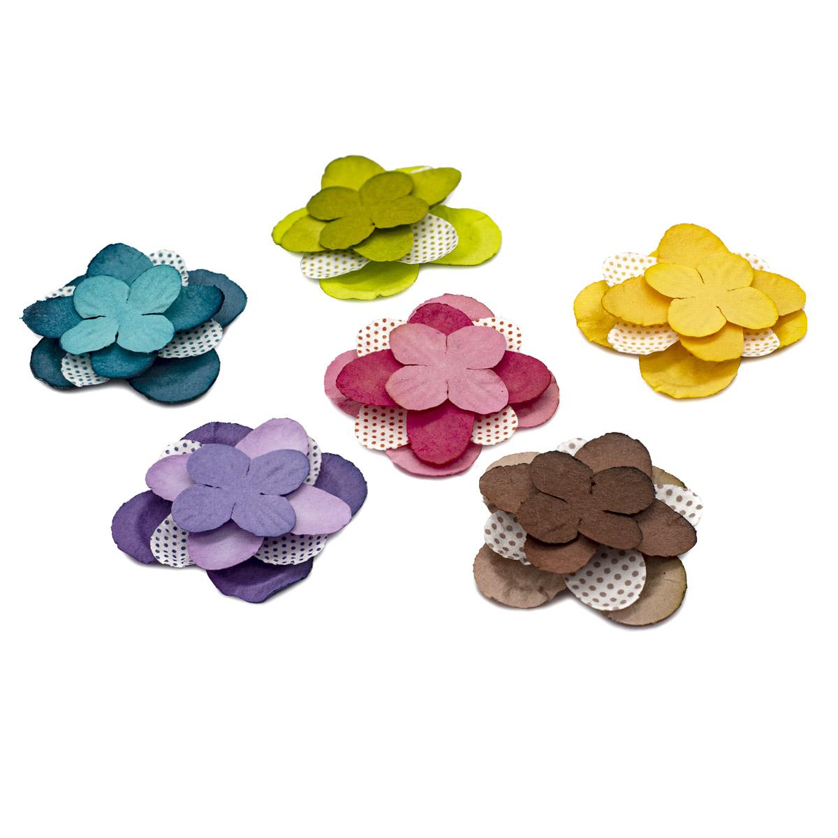 Набор бумажных лепестков 'Ассорти 1' d4,5см/3,5см/2,5см, 150шт, Астра
