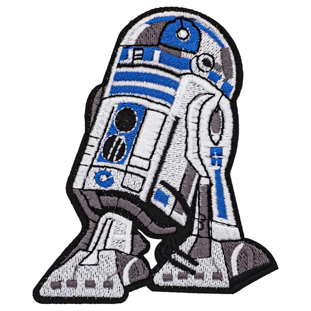 Термоаппликация 'R2-D2', 8.2*9.3см