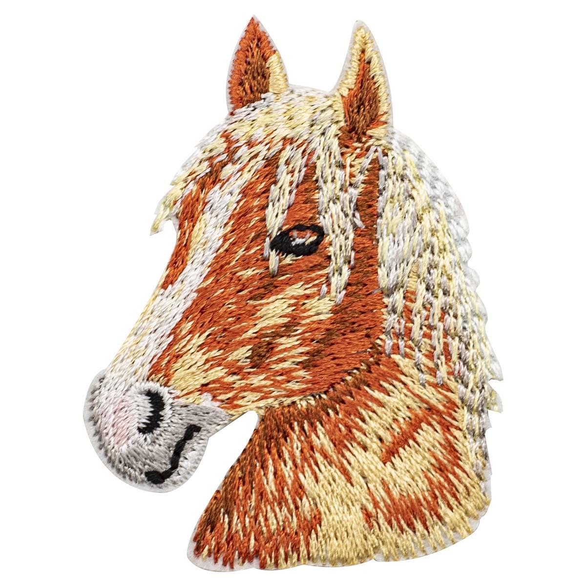 Термоаппликация 'Конь', 4.0*5.5см