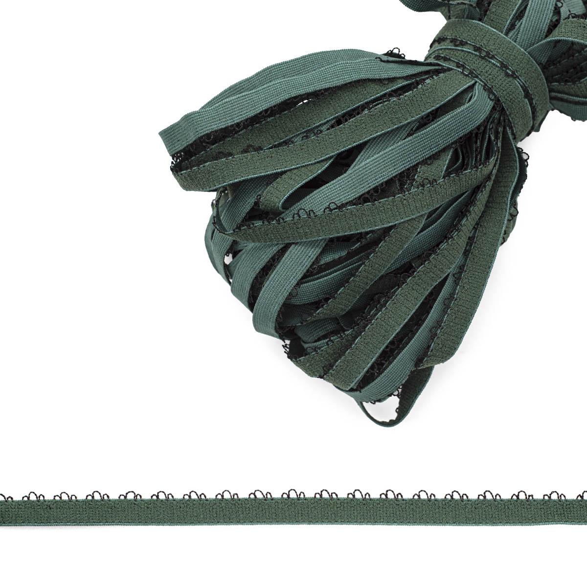 K-283/12D эластичная вязаная тесьма 12мм, 25м