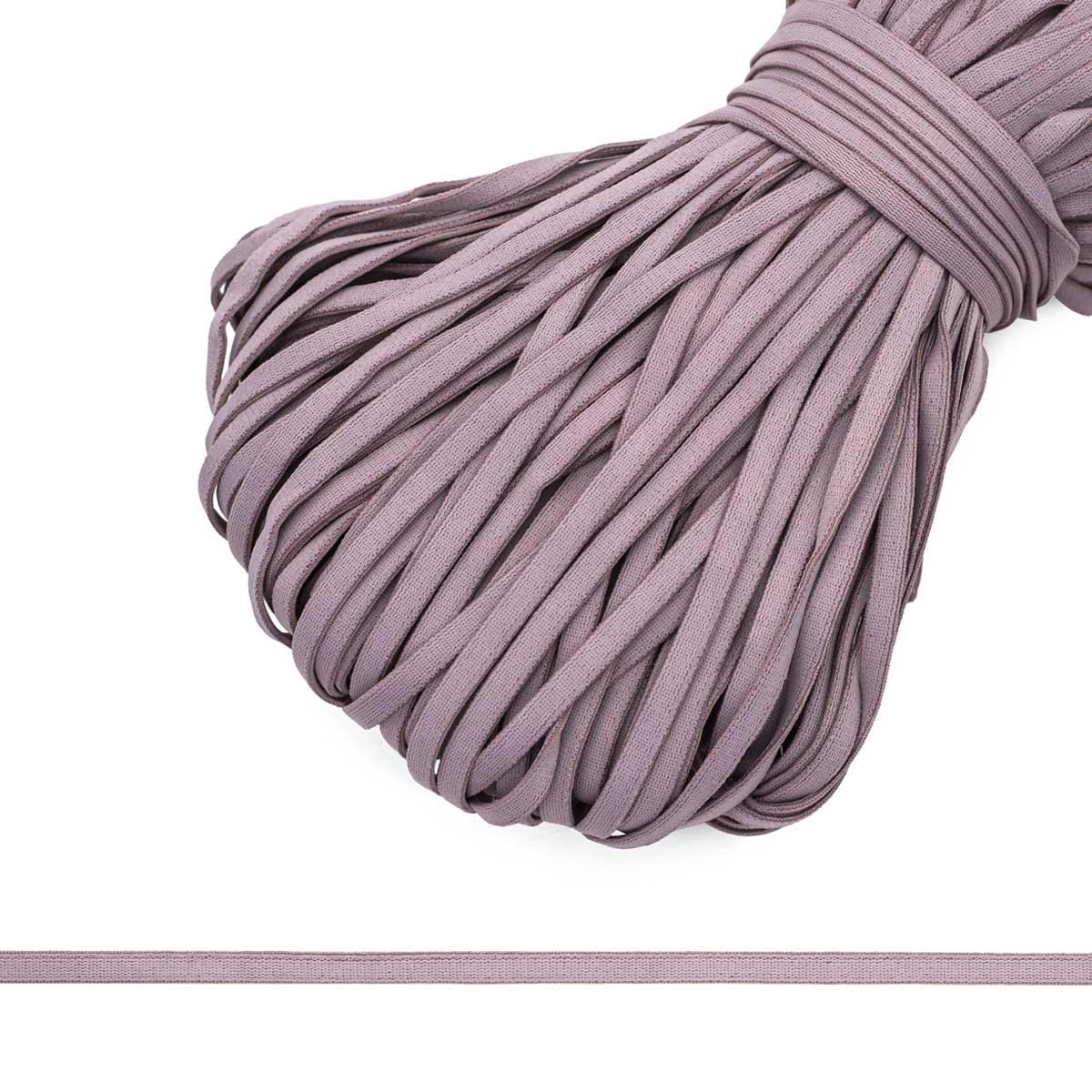 609/5 эластичная бретелечная лента 5мм, 50м