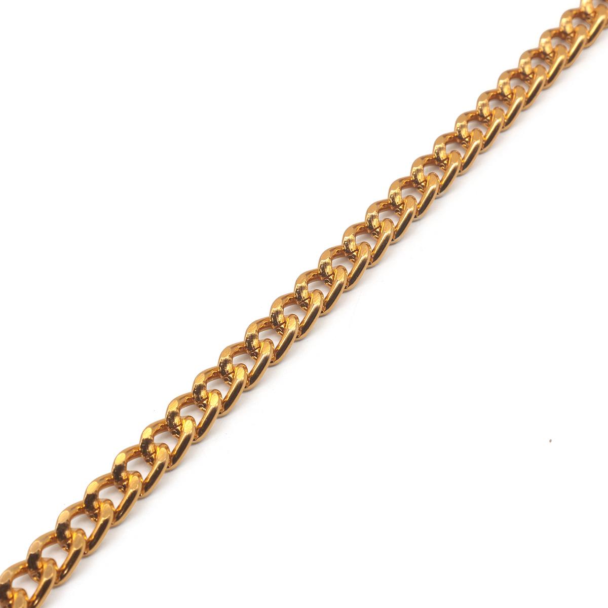 K18601 Цепь алюминиевая 5,4мм*4,4мм, боб(10м)