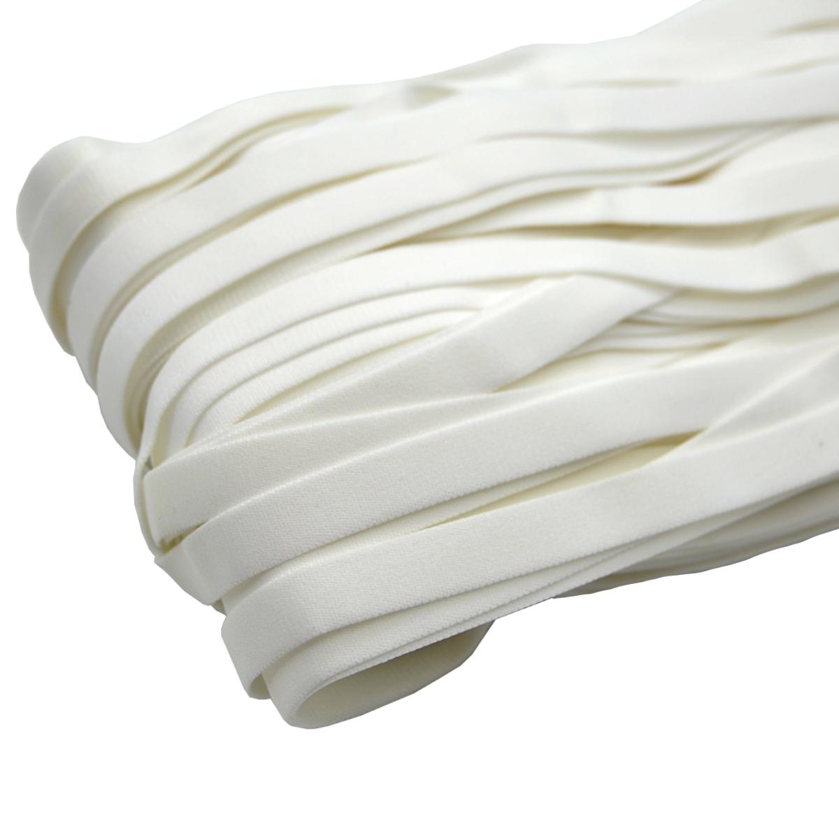 ST/37 эластичная бретелечная лента 12мм*50м, белый