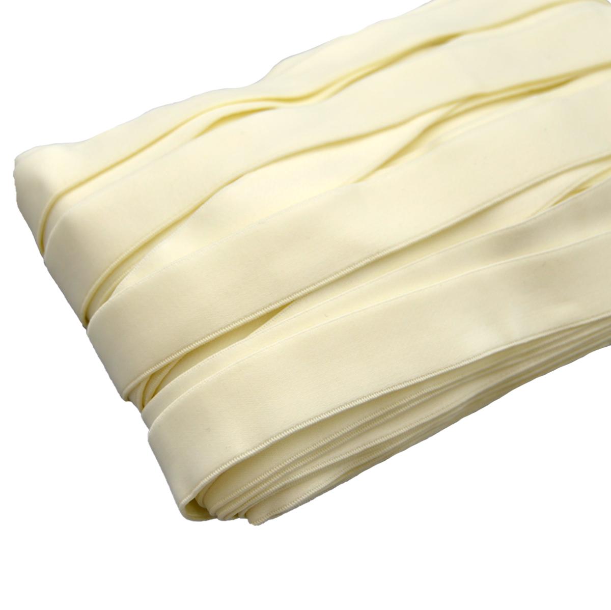 ST/40 эластичная бретелечная лента 22мм*25м, молочный