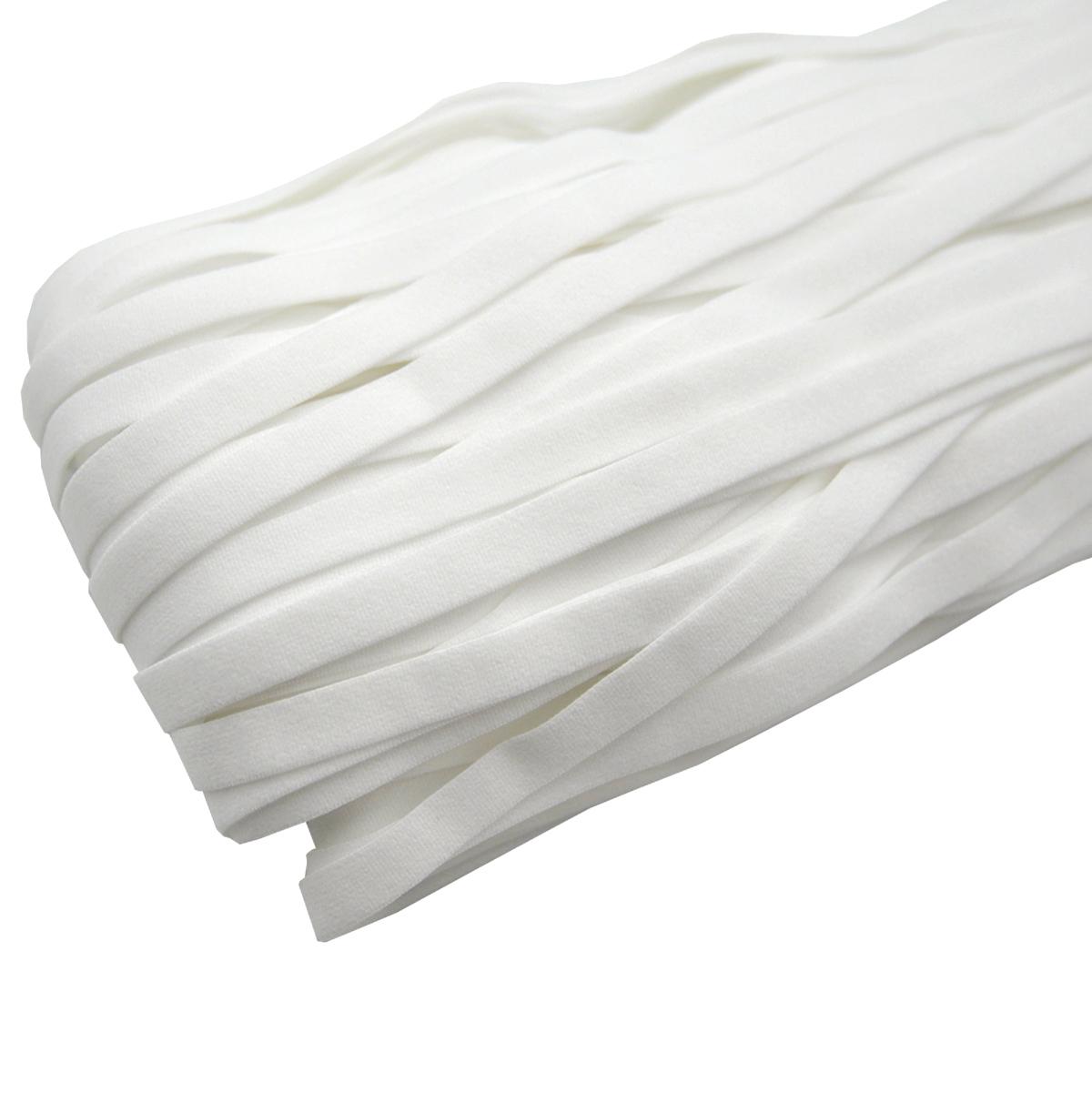 ST/01 эластичная бретелечная лента 8мм*50м, белый