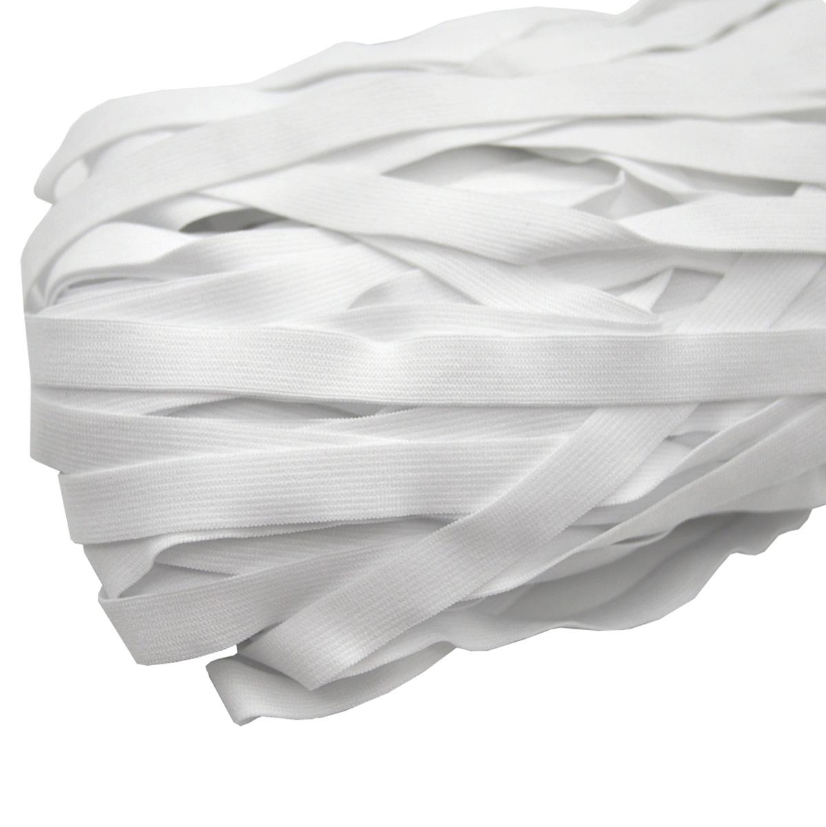 ST/21 эластичная отделочная лента 12мм*50м, белый