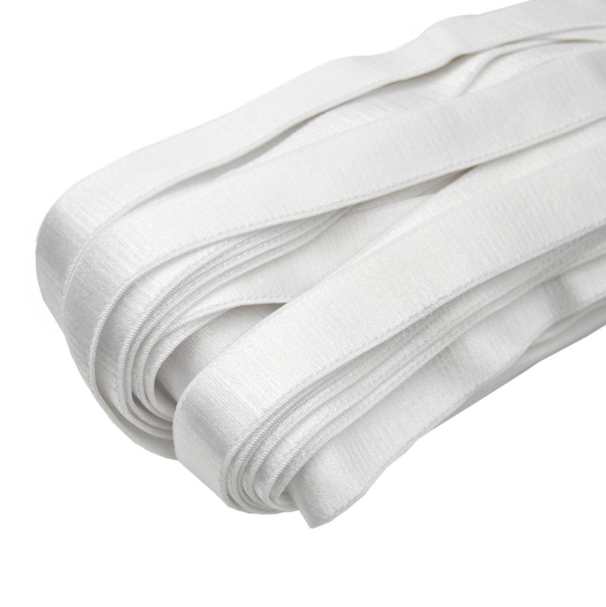 ST/24 эластичная бретелечная лента 22мм*25м, белый
