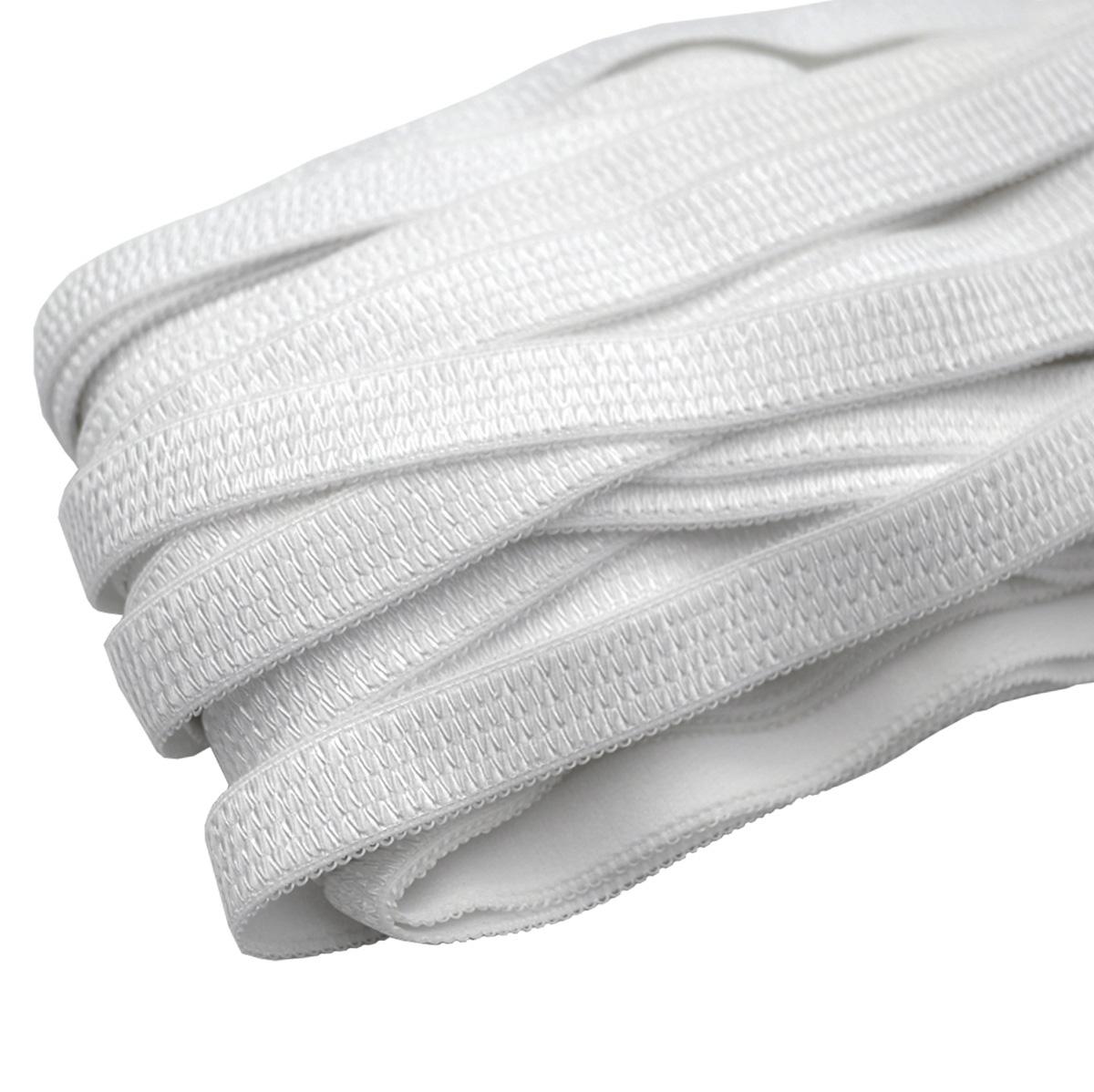 ST/28 эластичная бретелечная лента 16мм*25м, белый