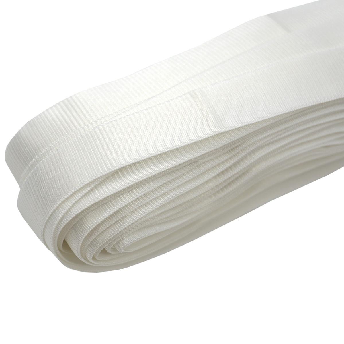 ST/29 эластичная бретелечная лента 24мм*25м, белый