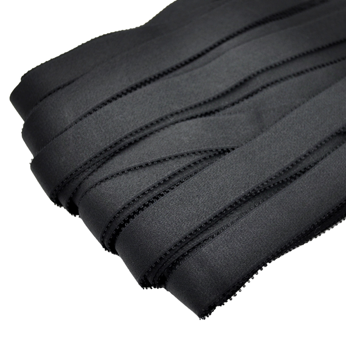 STB/23 эластичная бретелечная лента 22мм*25м, черный