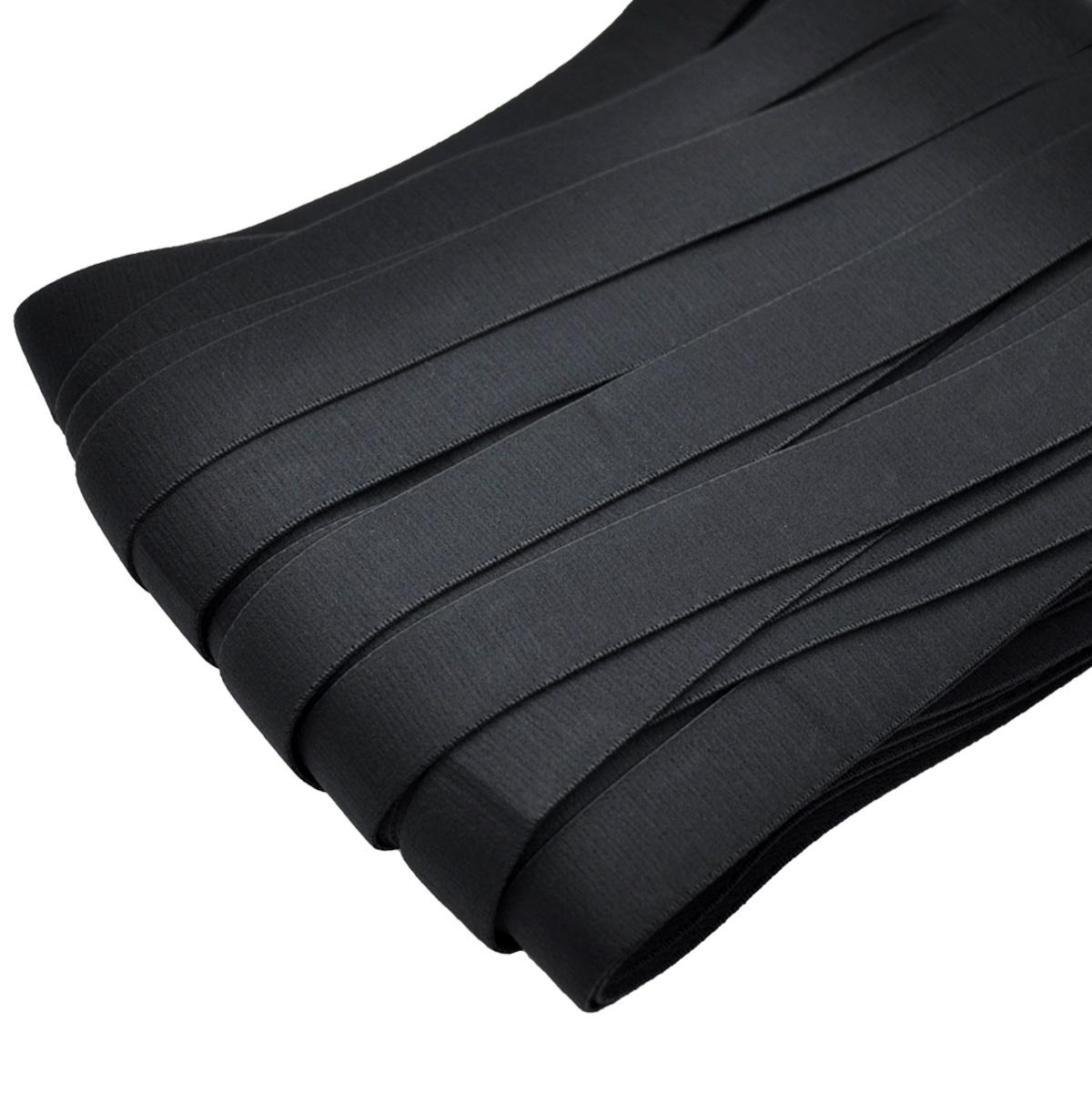 STB/26 эластичная бретелечная лента 22мм*25м, черный