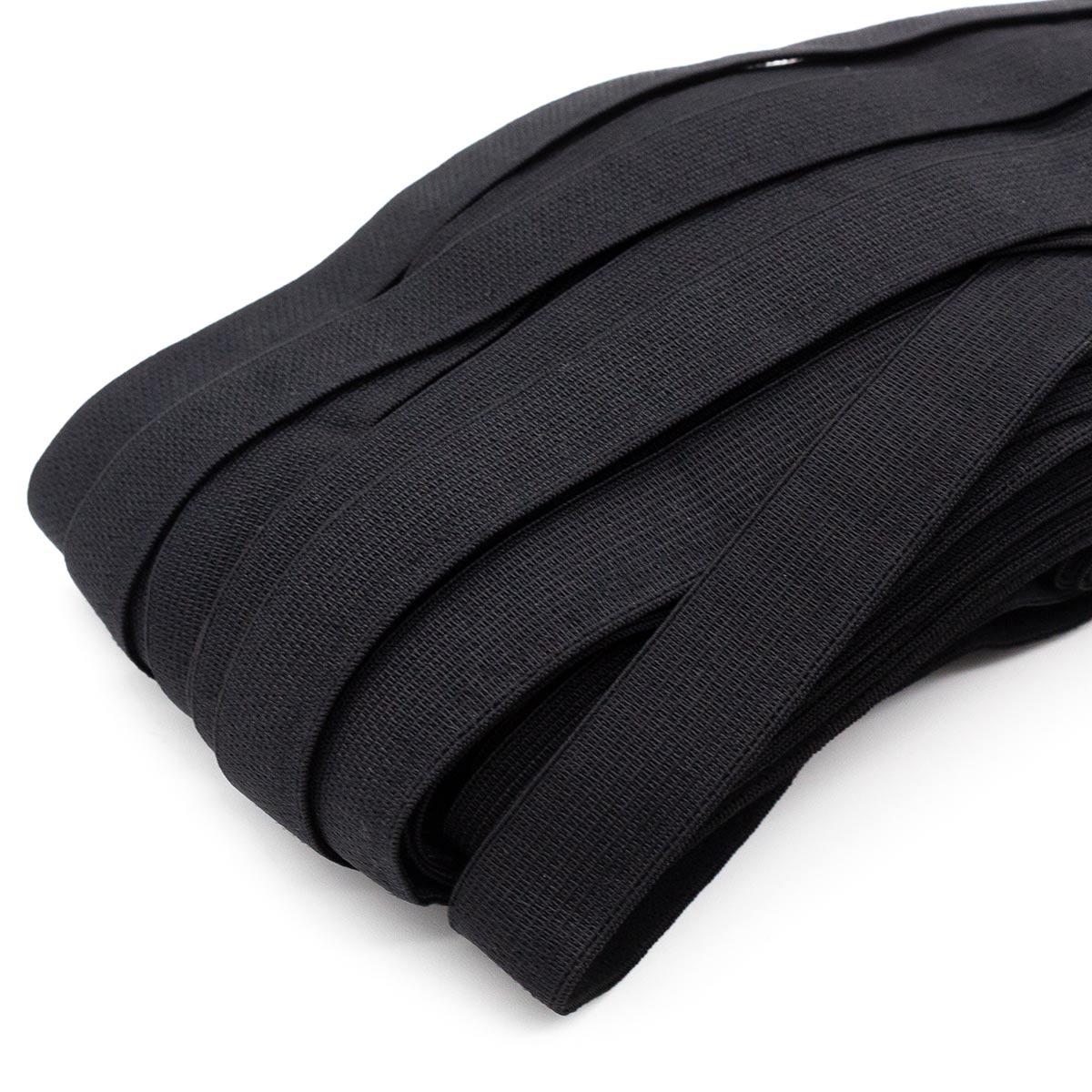 STB/15 эластичная отделочная лента 14мм*25м, черный