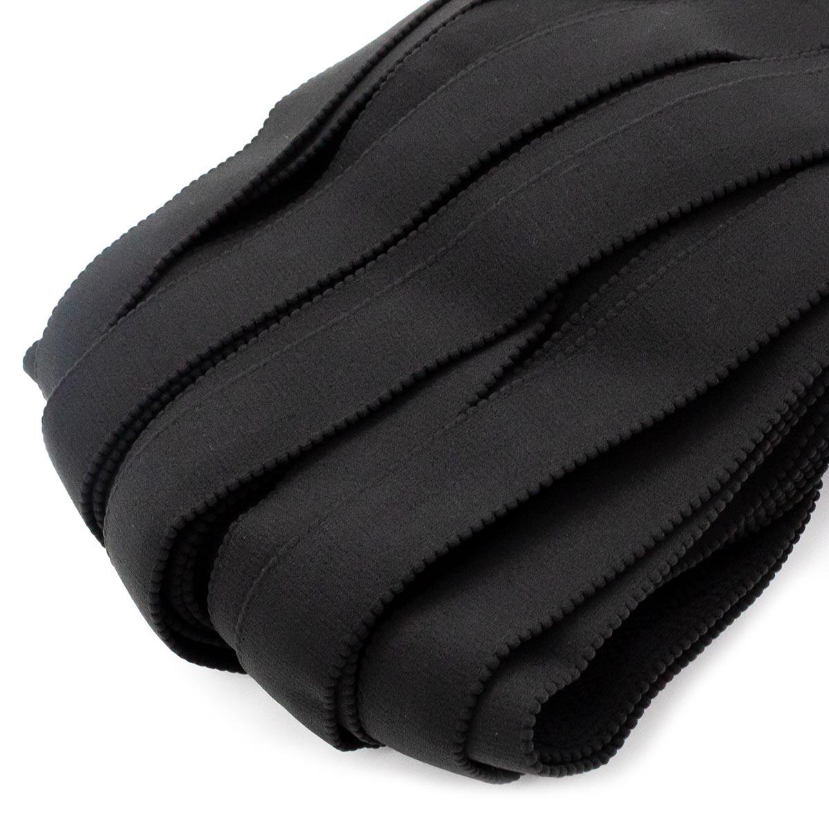 STB/20 эластичная бретелечная лента 24мм*25м, черный