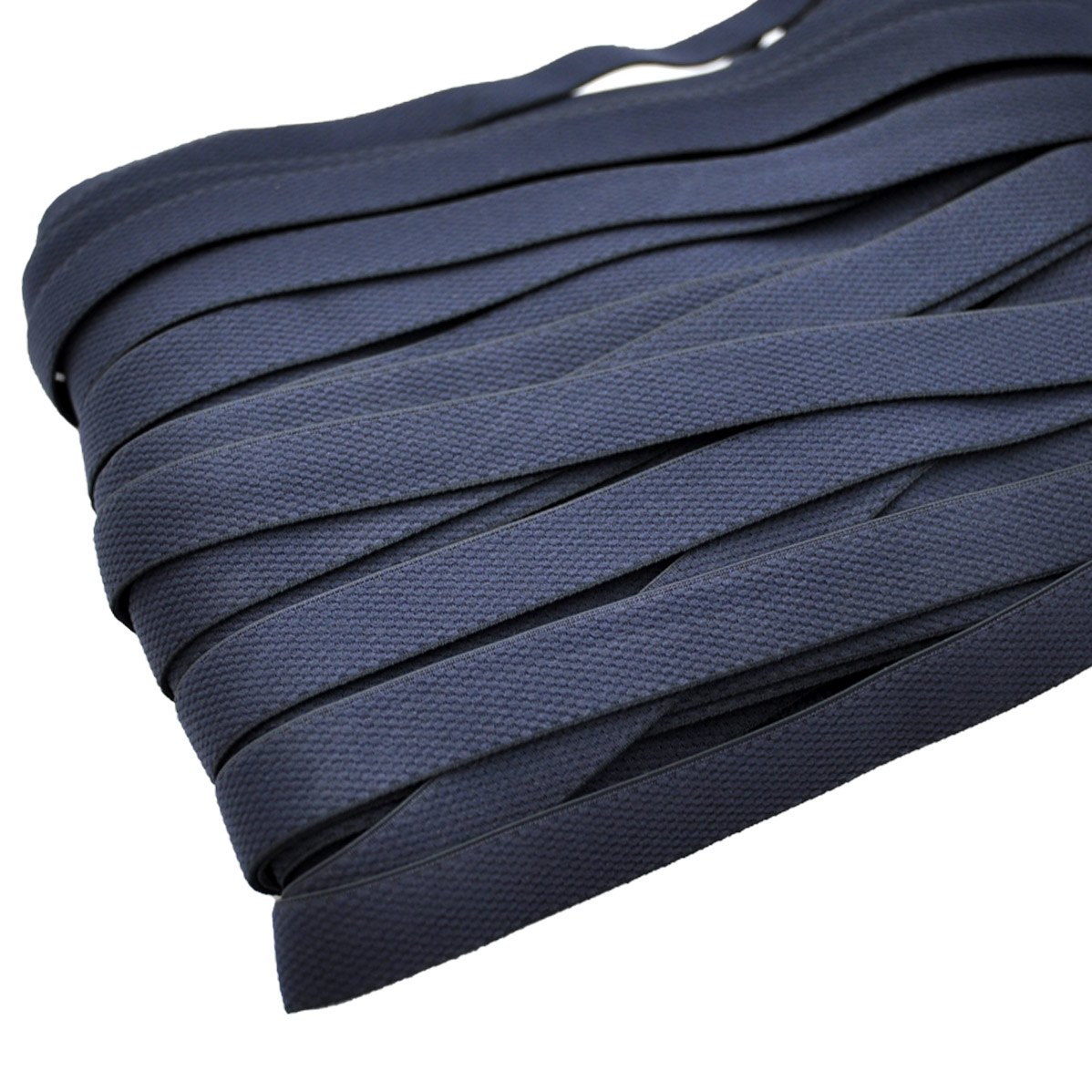 STD/10 эластичная бретелечная лента 14мм*25м, темно-синий