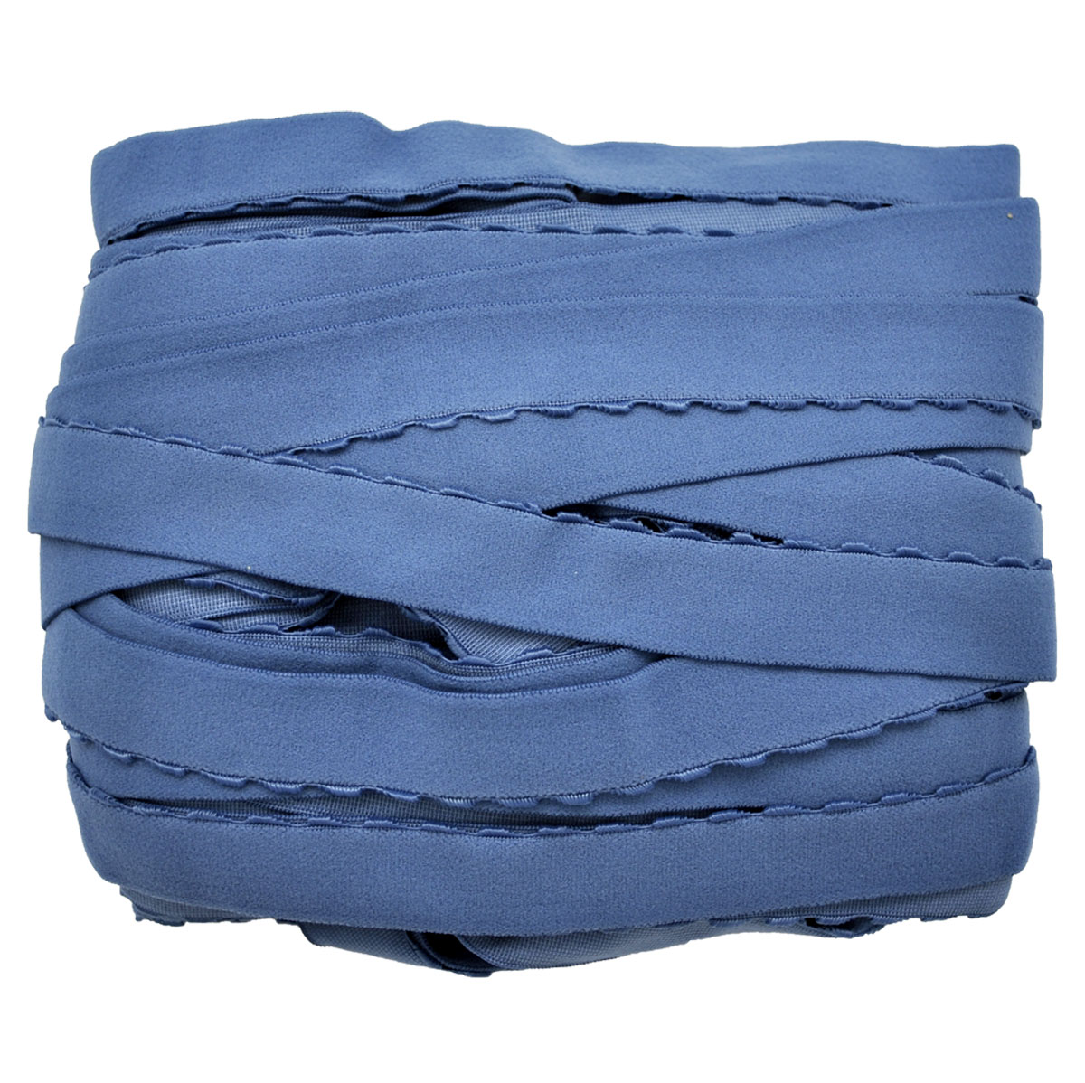 STD/12 эластичная ажурная лента 22мм*25м, серо-голубой