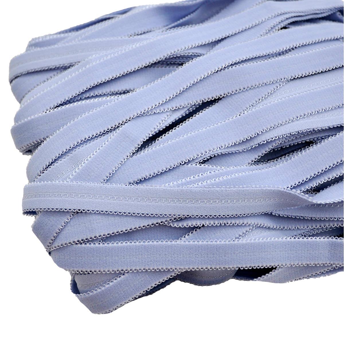 STD/25 эластичная бретелечная лента 14мм*25м, голубой