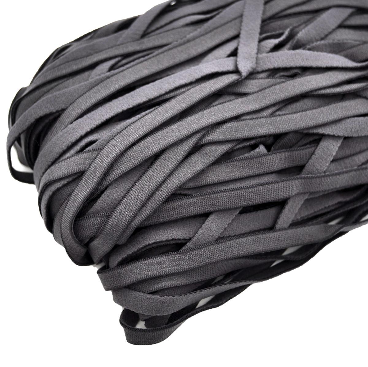 STD/34 эластичная отделочная лента 8мм*50м, графит