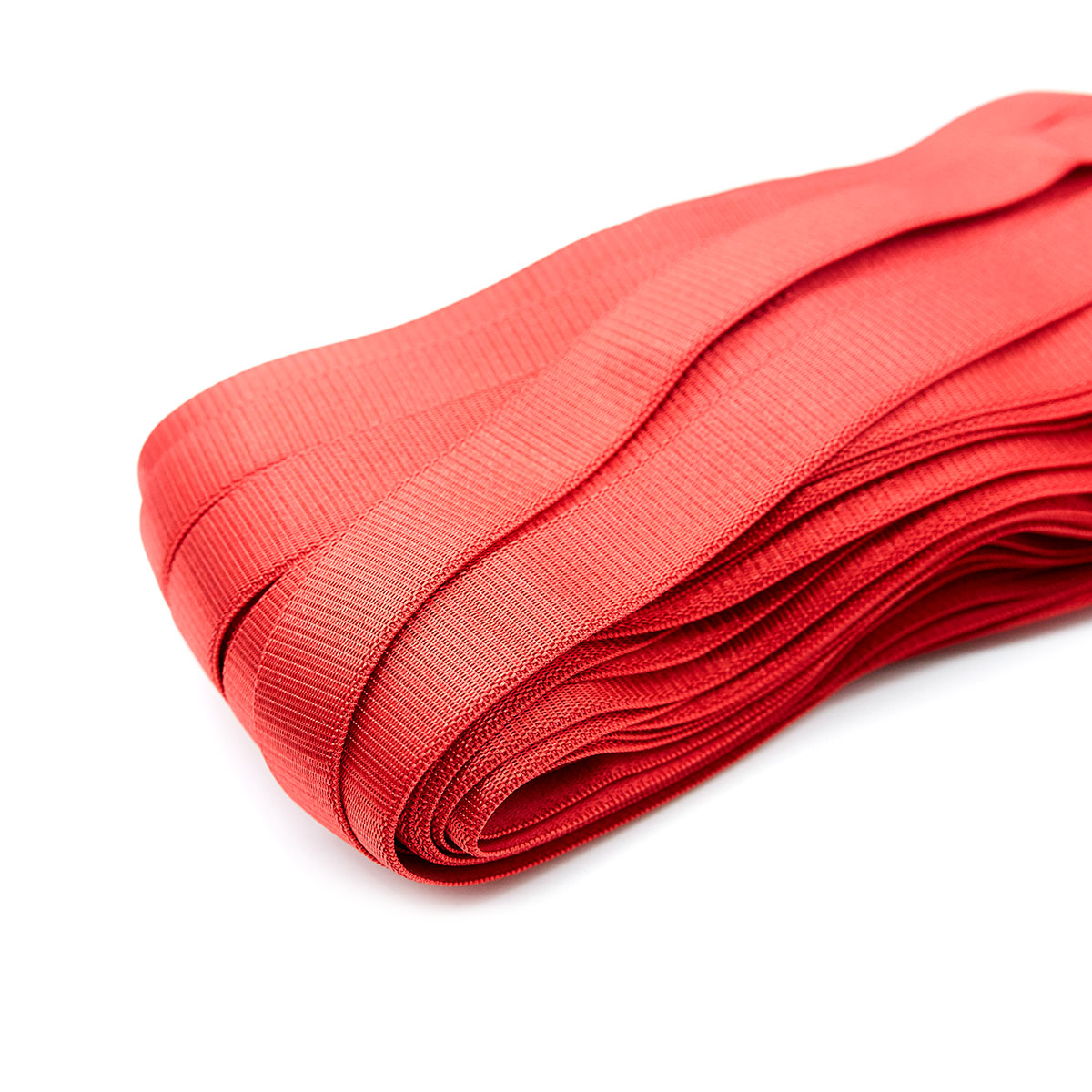 STD/48 эластичная бретелечная лента 18мм*25м, красная
