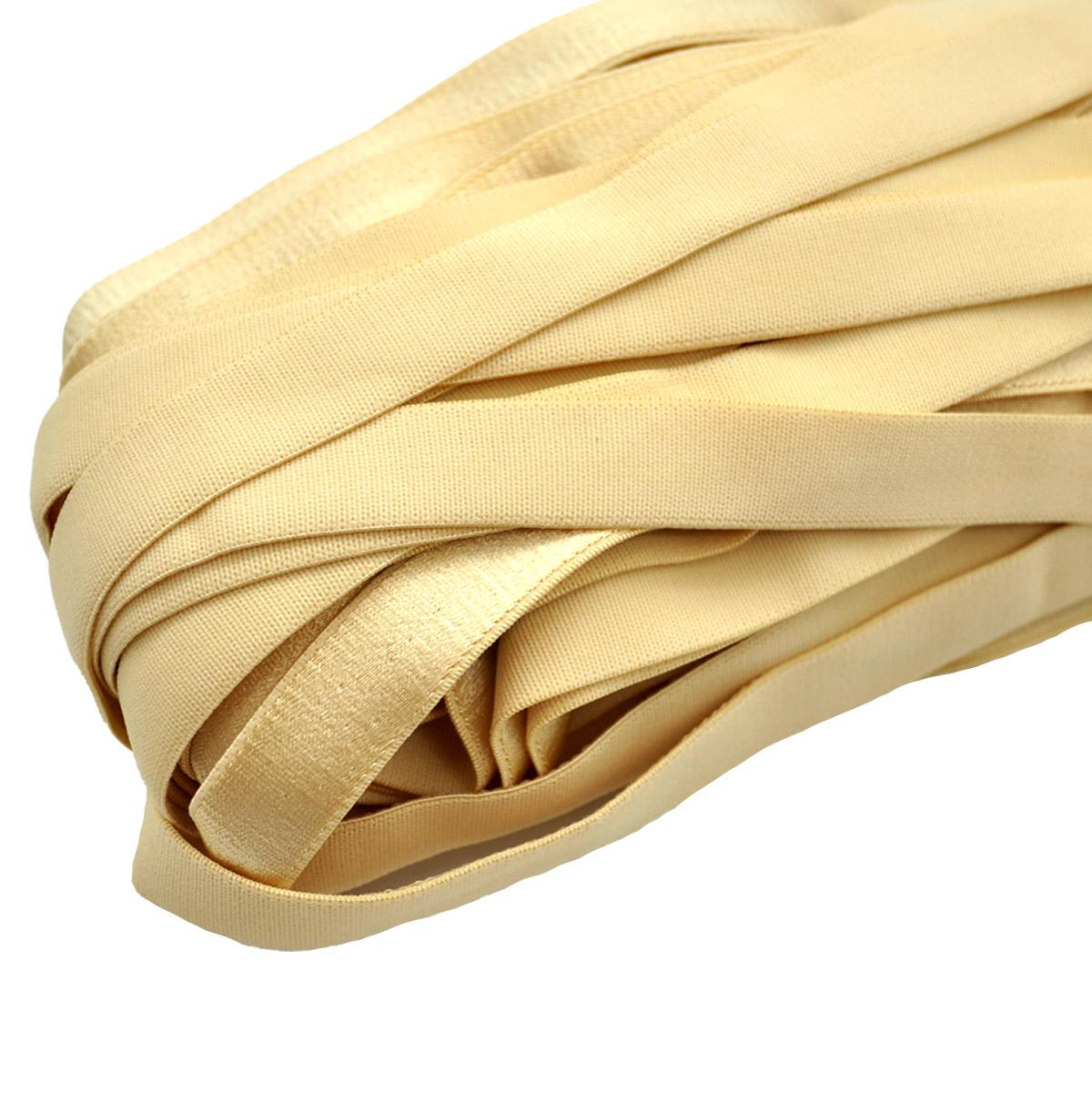 STD/56 эластичная бретелечная лента 20мм*25м, золотистый