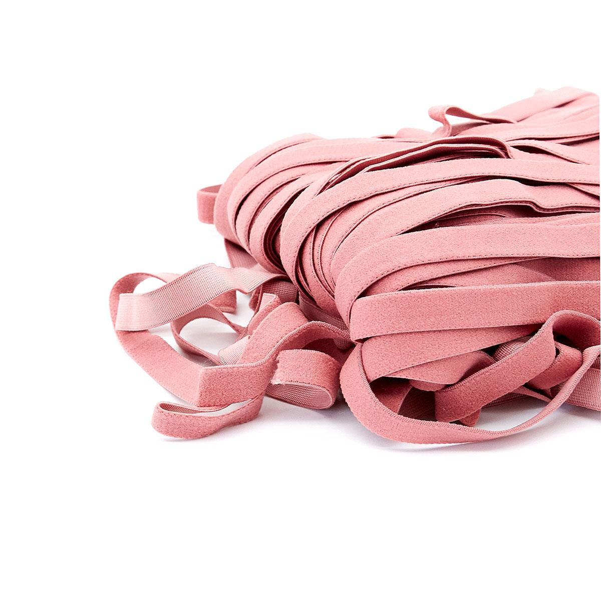 STD/68 эластичная отделочная лента 12мм*50м, темно-розовый