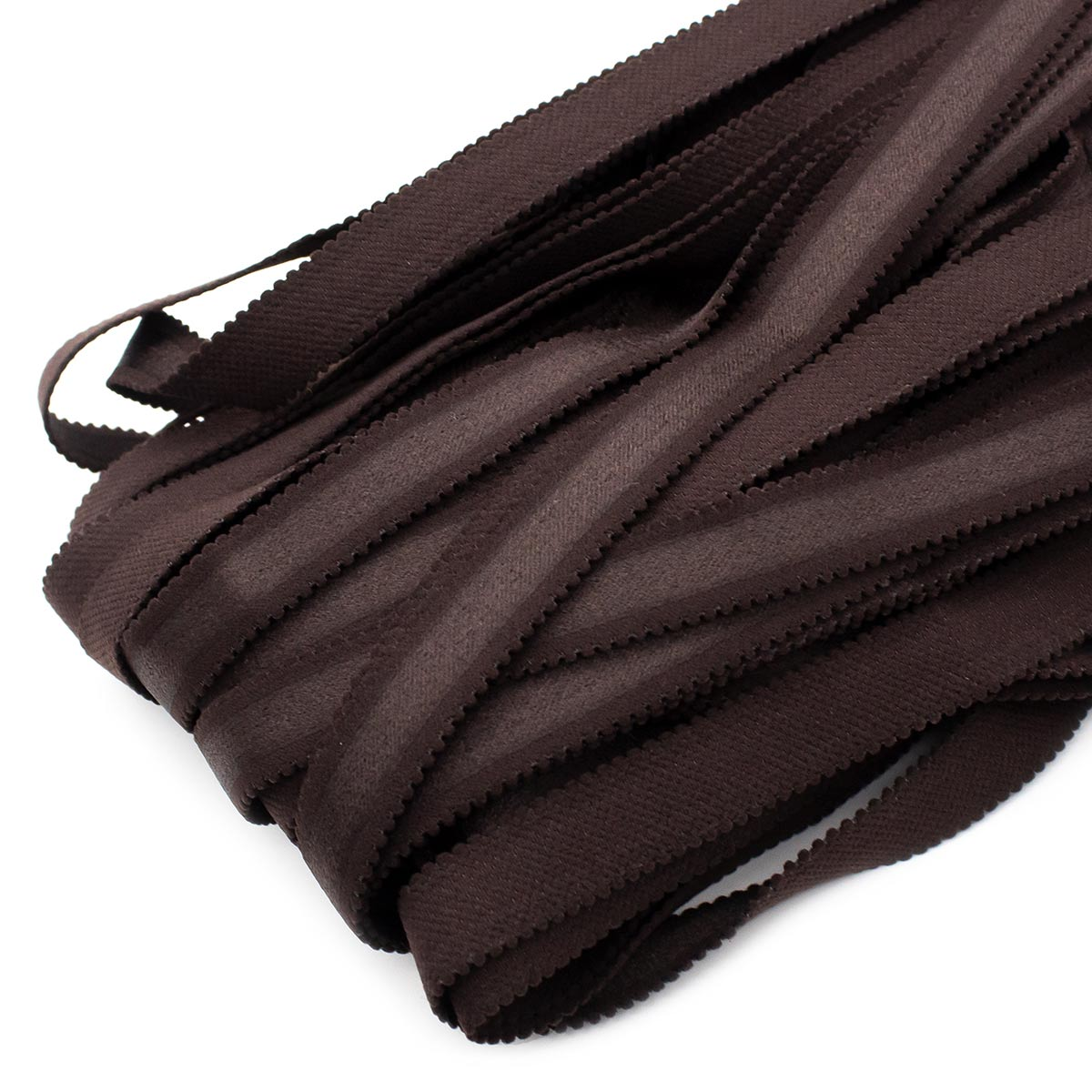 STP/33 эластичная бретелечная лента 16мм*25м, темный шоколад