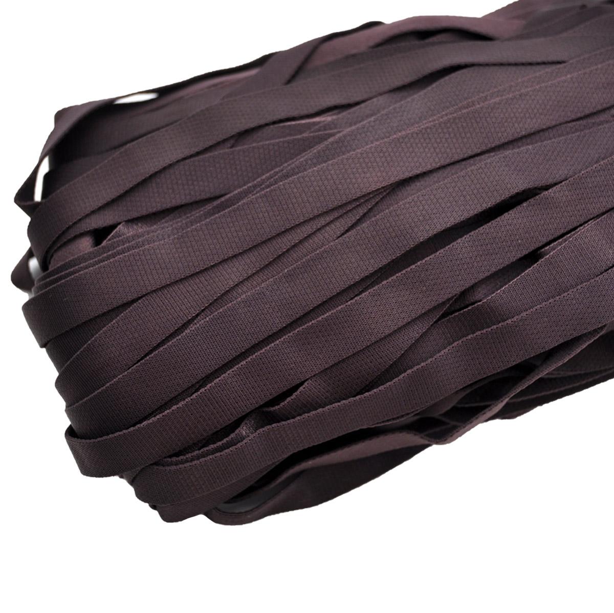 STP/34 эластичная бретелечная лента 12мм*50м, фиолетово-коричневый