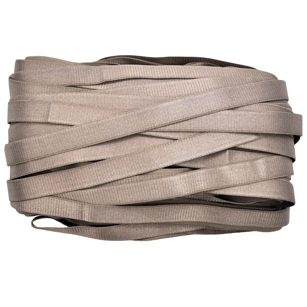 STP/40 эластичная бретелечная глянцевая лента 16мм*25м, серо-сиреневый