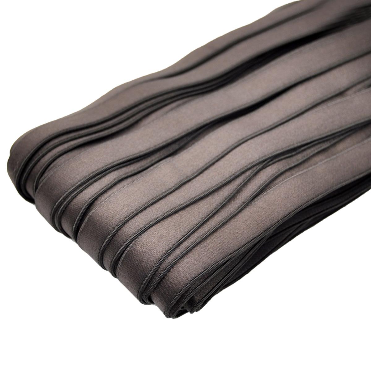STP/43 эластичная бретелечная лента 14мм*25м, темный шоколад